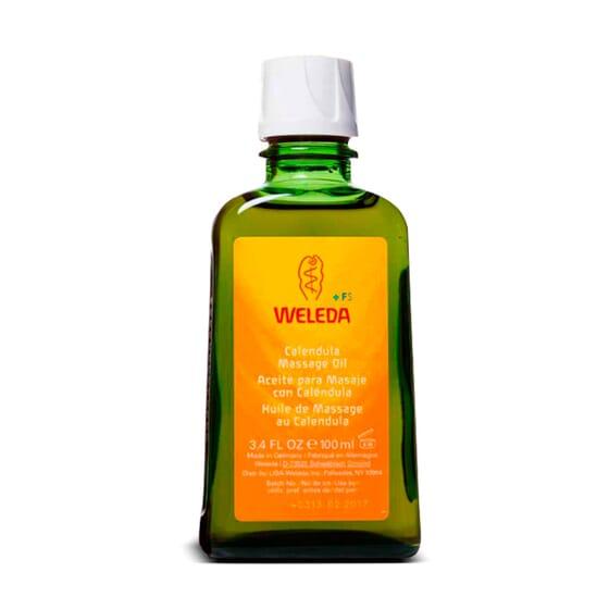 Óleo De Massagem Com Calêndula 100 ml da Weleda