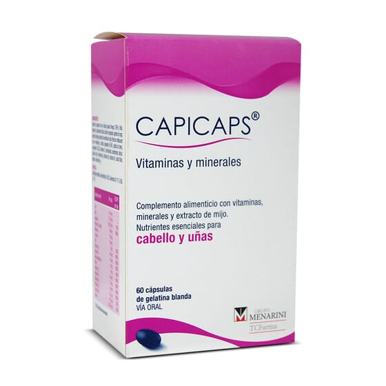 CAPICAPS 60 Gélules - CAPICAPS