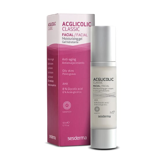 AcGlicolic Classic Gel Hydratant 50 ml Sesderma