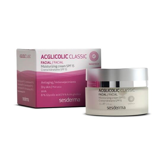 AcGlicolic Classic Crème Hydratante 50 ml Sesderma