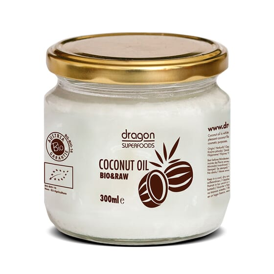 Óleo De Coco Biológico 300 ml da Dragon Superfoods