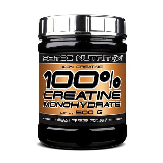 100% CREATINE MONOHYDRATE 500 g - SCITEC