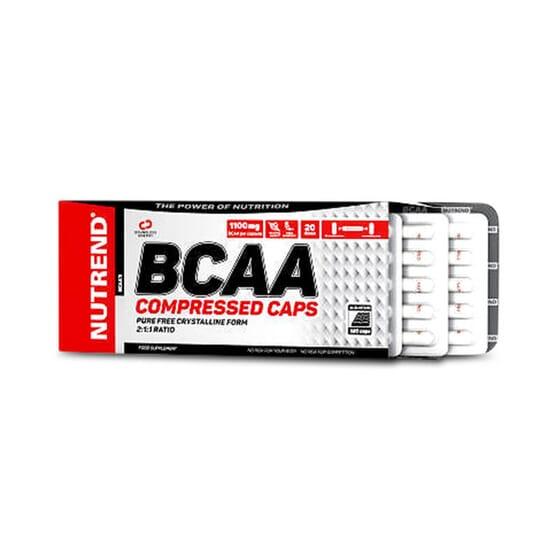 BCAA Compressed est formulé avec une quantité appropriée d'acides aminés ramifiés.