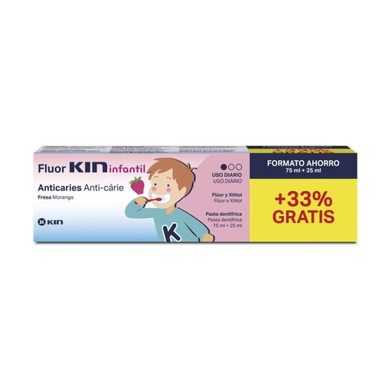 FLUOR KIN ENFANTS DENTIFRICE 100 ml - KIN