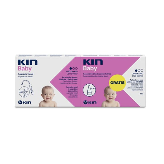KIN BABY NASAL + 10 RECHARGES SOUPLES - KIN