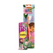 Escova + Pasta Dentífrica 50 ml Dora, A Exploradora da Kin