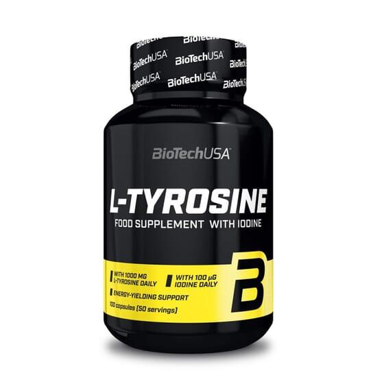 L-TYROSINE 100 Gélules - BIOTECH USA