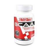 Bcaa Aminoácidos Ramificados 100 Tabs da NutriSport