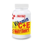 VITAMIN C+E 60 Comprimés à croquer - NUTRISPORT