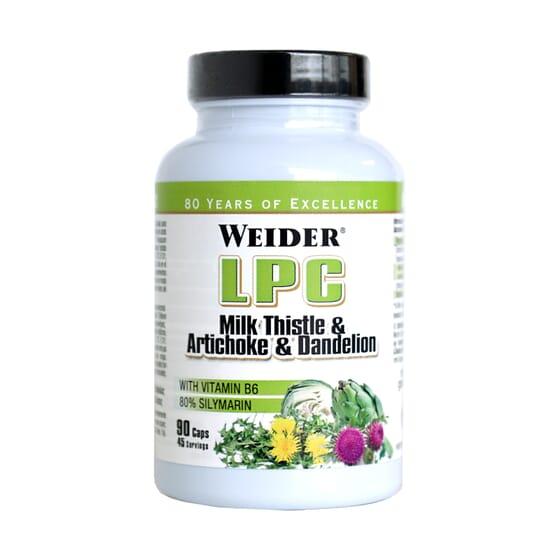 LPC 90 Gélules - WEIDER