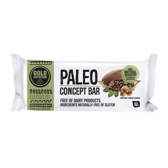 Paléo Concept Bar est une barre élaboré seulement avec des ingrédients naturels.