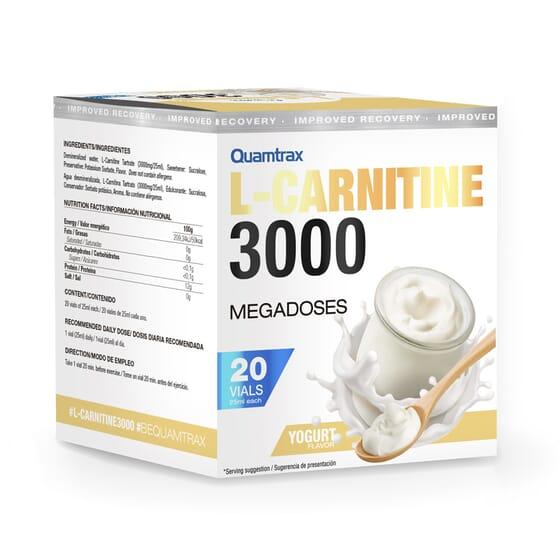 A L-Carnitina 3000 otimiza a perda de peso.