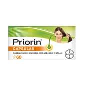 Priorin son cápsulas para prevenir la caída del cabello y ayudar a su salud
