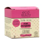 Crème Visage Rose Musquée Bio 50 ml de Ecobeauty