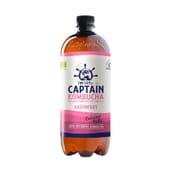 Chá Kombucha Bio-Zero Raspberry 1000 ml da Captain Kombucha