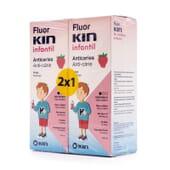 Fluor Kin Infantil Colutório 500 ml 2 Unds da Kin