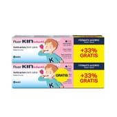 Fluor Kin Infantil Pasta Dentífrica Formato Ahorro 100 ml 2 Uds de Kin