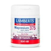Magnésio 375 60 Comprimidos da Lamberts