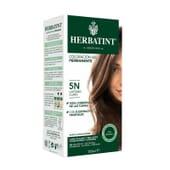 Coloração Gel Permanente 5N Castanho Claro 150 ml da Herbatint