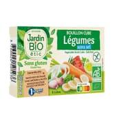 Cubitos De Verduras Sin Sal Y Sin Gluten bio 9g 8 Uds de Jardin Bio
