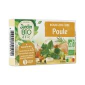 Cubitos De Pollo Sin Aceite De Palma Bio 10g 8 Uds de Jardin Bio