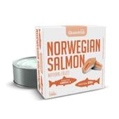 Salmón Noruego Al Natural 160g de Quamtrax
