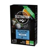 Cápsulas Biodegradáveis Pur Arábica Descafeinado Bio 5g 10 Unds da Destination