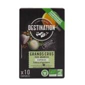 Cápsulas Biodegradáveis Pur Arábica Grands Crus Bio 5g 10 Unds da Destination