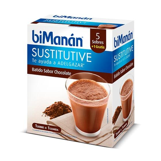 Batidos Sabor Chocolate 6 x 50g da Bimanán
