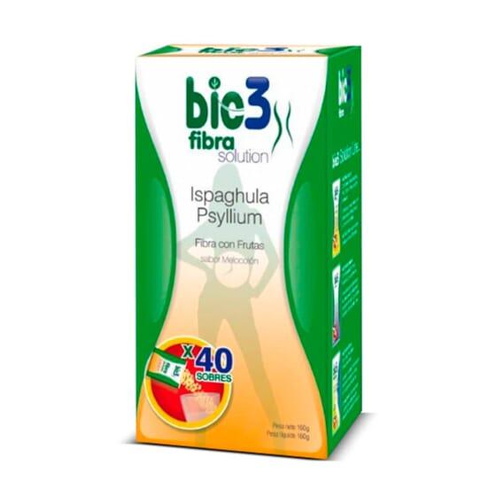 Bie3 Fibra Con Frutas combate el estreñimiento de forma natural.