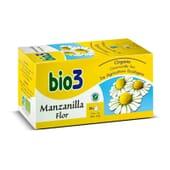 Bio3 Camomila Flor Biológica para acalmar os desconfortos digestivos.
