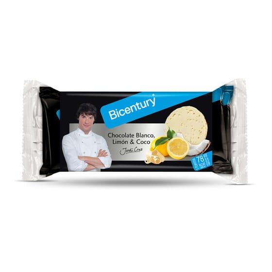 Tortitas Arroz Con Chocolate Blanco, Limón Y Coco 132g de Bicentury