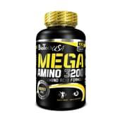 Mega Amino 3200 - 100 Tabs da Biotech USA