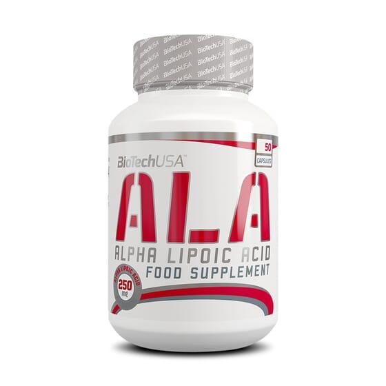 Ala Alpha Lipoic Acid 50 Caps de Biotech Usa