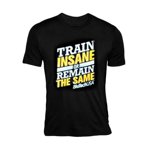T-Shirt Train Insane Biotech da Biotech USA