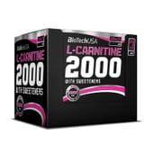 L-Carnitine 2000 20 x 25ml de Biotech Usa