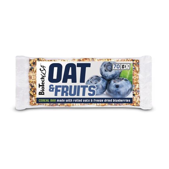 Oat & Fruits With Blueberries 20 x 70g da Biotech USA