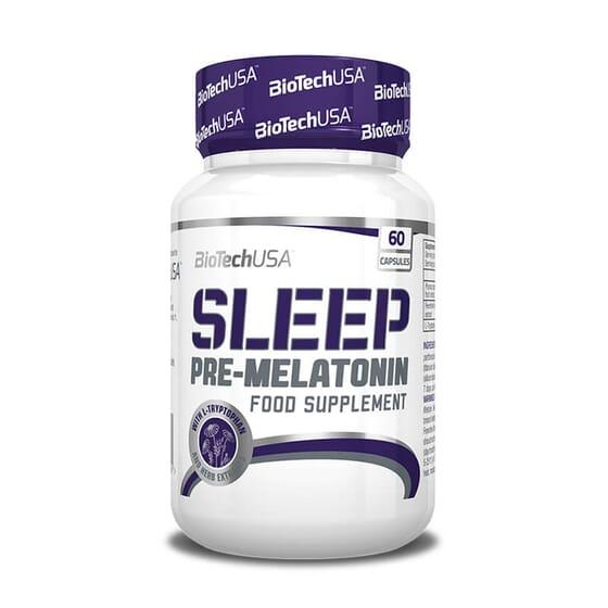 SLEEP PRE-MELATONIN 60 Caps - BIOTECH USA