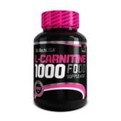 L-CARNITINE 1000 - 60 Comprimés - BIOTECH USA