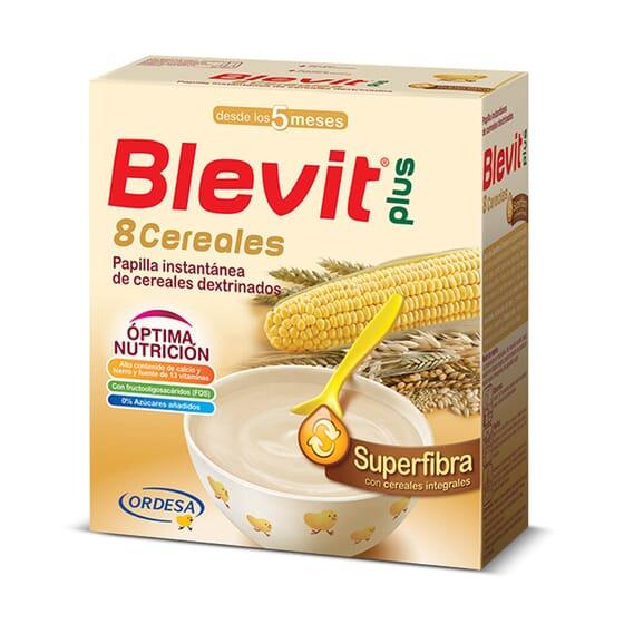 Blevit Plus Superfibra 8 Cereais 600g da Blevit