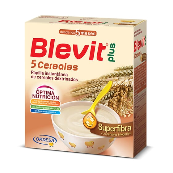 Blevit Plus Superfibra 5 Cereales 600g de Blevit