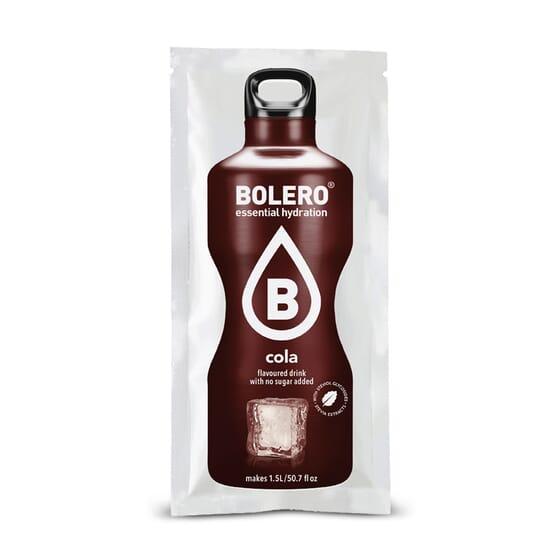 Bebida de cola sin azúcar y baja en calorías de Bolero