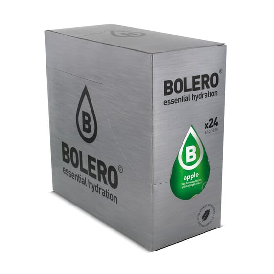 Bolero Maçã com Stevia é uma deliciosa bebida baixa em calorias.