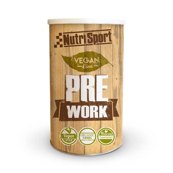 Vegan Prework é uma fórmula pré-treino apta para veganos.