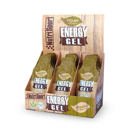 Vegan Energy Gel offre plus d'énergie pour les sportifs végétaliens.