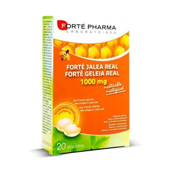 Forté Gelée Royale 1000 mg renforce les défenses de votre corps.
