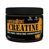 Creatina proporciona 100% creatina monohidrato.