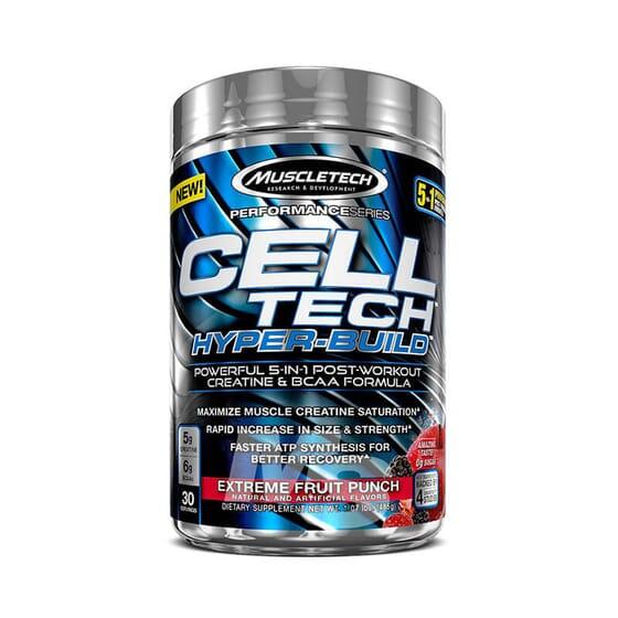 CELL TECH HYPER BUILD - MUSCLETECH - Formule 5 en 1