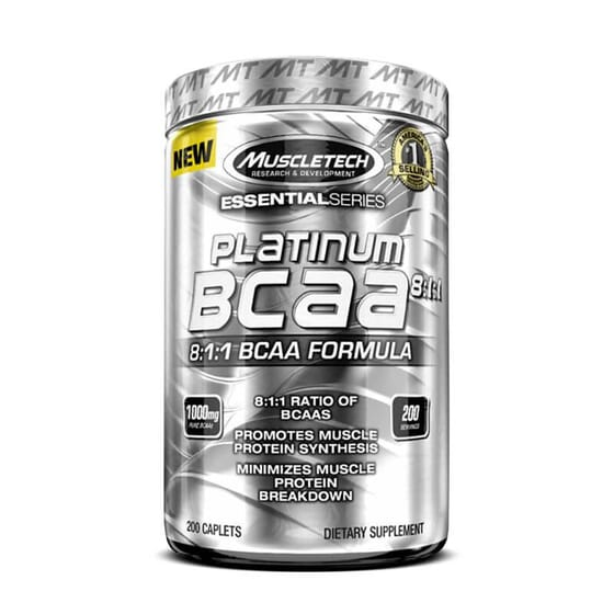 Platinum BCAA 8:1:1 aide à la synthèse protéique.
