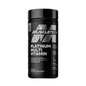 Platinum Multivitamin fornece até 20 vitaminas e minerais com grande poder antioxidante.
